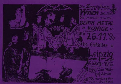 Live In Leipzig Original Flyer