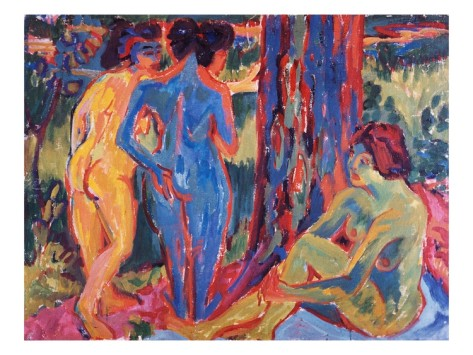 ernst-ludwig-kirchner-three-nudes 4