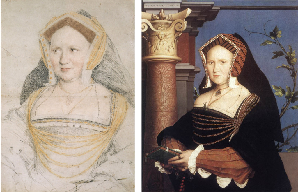Hans Holbein the Younger - Lady Guildford