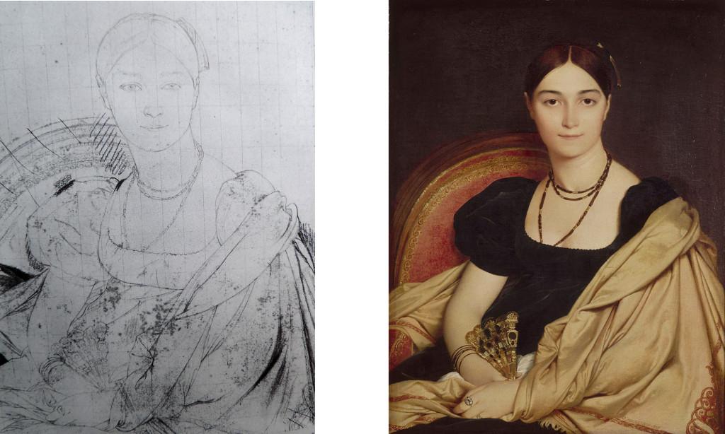 Ingres - Lady Devauçay (1807)